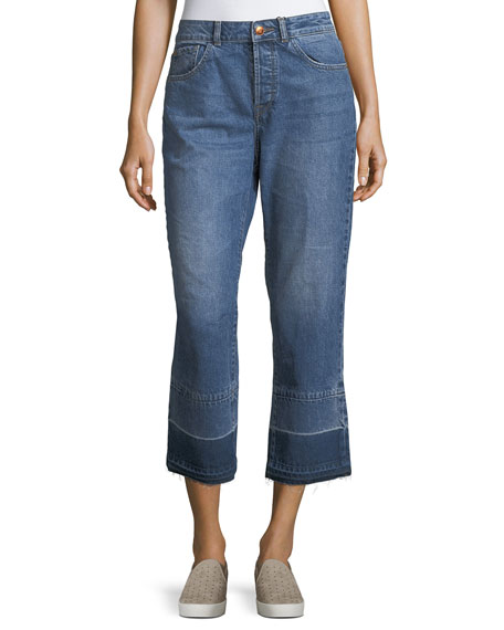 DL1961 Premium Denim Patti Straight-Leg Denim Jeans