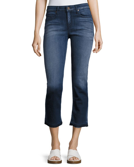 Parker Smith Cropped Straight Jeans, Dark Blue