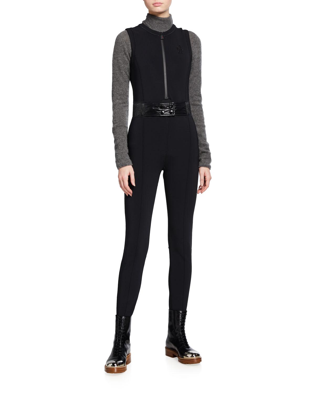 Quick Look. Moncler · Tuta Belted Stirrup Jumpsuit ...