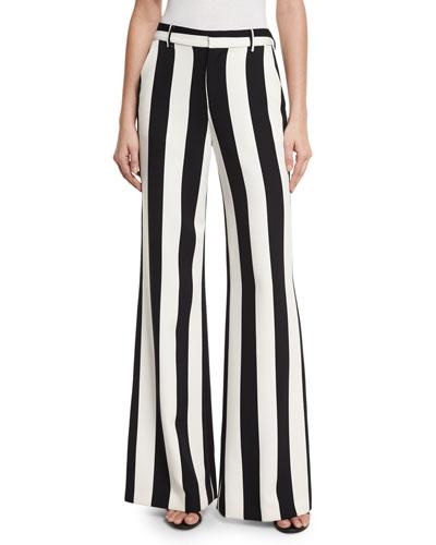 Women's Wide-Leg Pants at Neiman Marcus