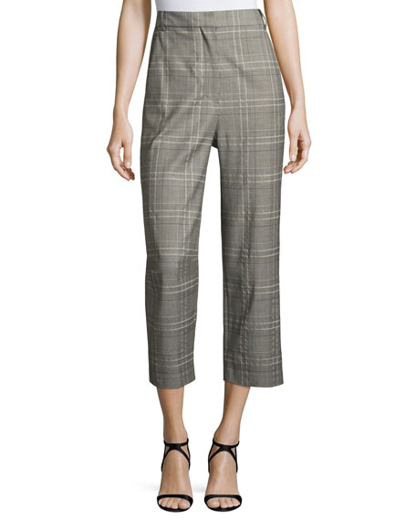 Jasper Suiting Tailored Pants, Gray Multi