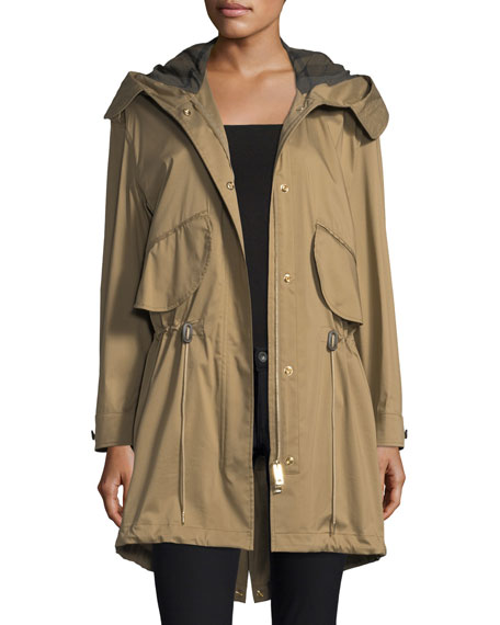 Burberry Chiltondale Hooded Drawstring Parka