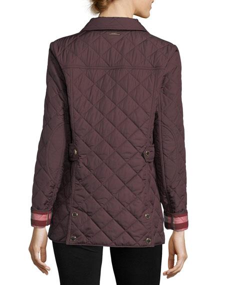 Westbridge Quilted Snap Jacket