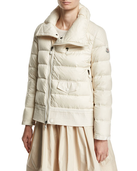 Moncler High-Waist Pleated Circle Skirt and Matching Items