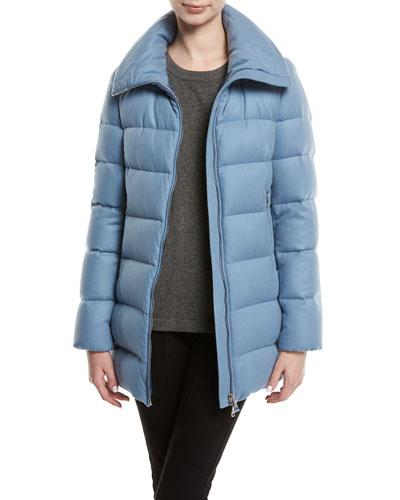 Torcelle High-Neck Puffer Coat