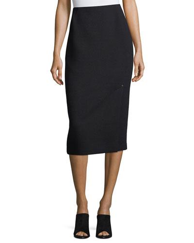 Lucina Nouveau Crepe Pencil Skirt