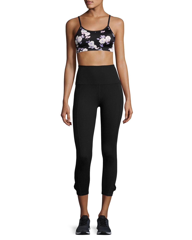 bdb9183de871d Beyond Yoga x kate spade new york cinched bow high-waist leggings, black |  Neiman Marcus
