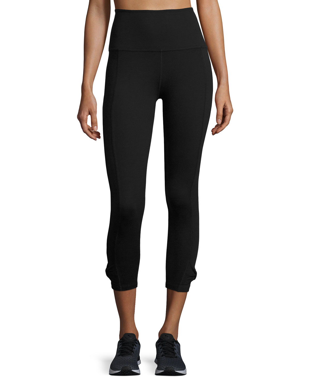 74e4c5d9263cc Beyond Yoga x kate spade new york cinched bow high-waist leggings, black