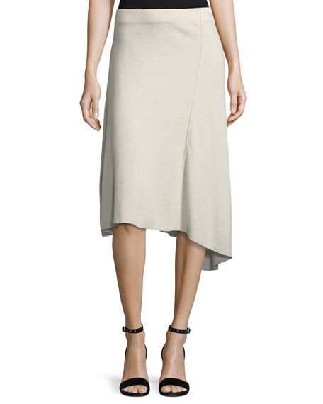 Mod Twirl Bias-Cut Skirt, Petite