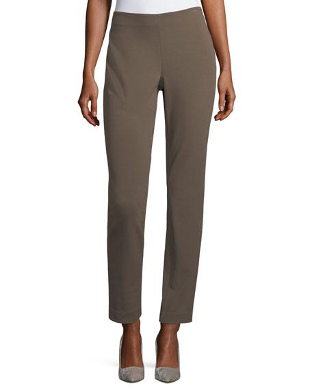 Lafayette 148 New York Punto Milano Slim-Leg Pants