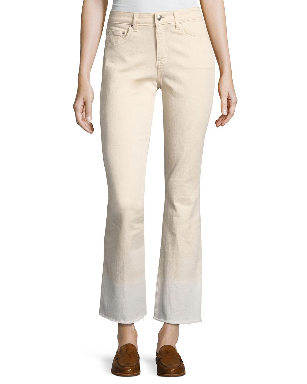f16a5f17cef Derek Lam 10 Crosby Jane Mid-Rise Flare Jeans