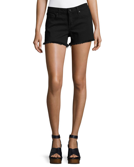 Derek Lam 10 Crosby Quinn Mid-Rise Girlfriend Cutoff