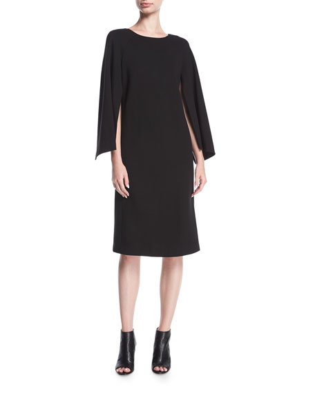 Lafayette 148 New York Punto Milano Split-Sleeve Shift