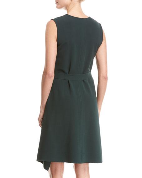 Desza Admiral Crepe Dress, Green