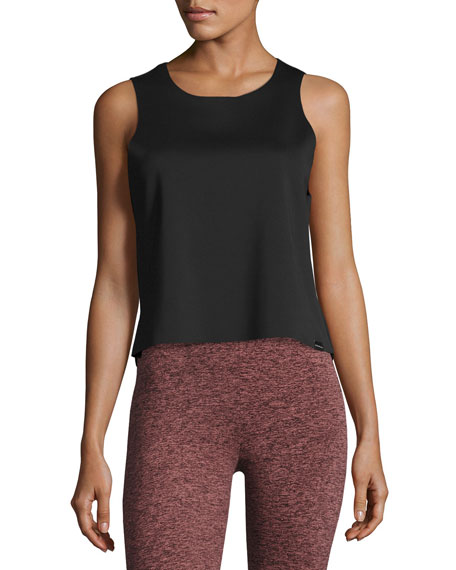 Koral Activewear Seeker Muscle Tank Top, Black