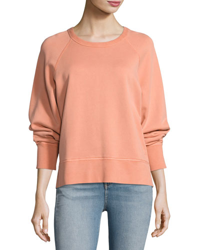 Classic Pullover Cotton Sweater