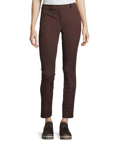 New Elliston Stretch-Gabardine Skinny Ankle Pants