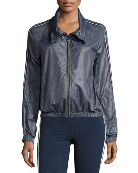 Racing Wind-Resistant Jacket, Blue