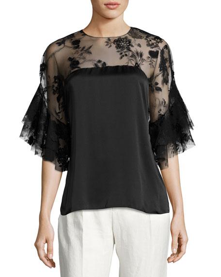 Sachin & Babi Bonnie Floral-Print Full Skirt and