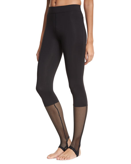 Koral Activewear Vertex Mesh-Panel Stirrup Leggings