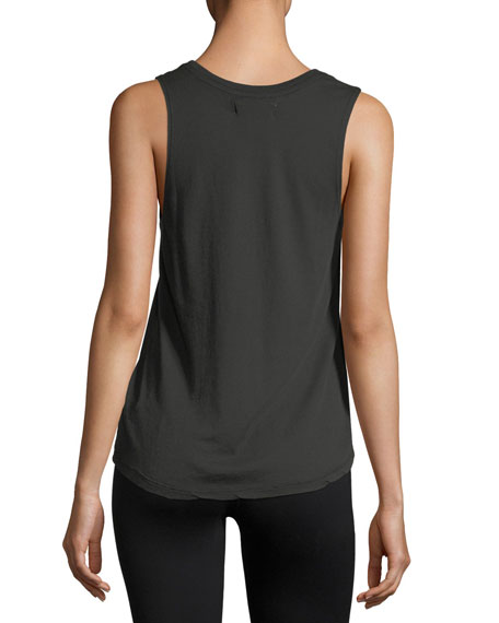 Follow Your Soul Athletic Muscle Tank