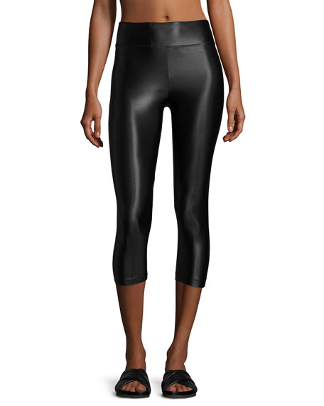 Koral Activewear High-Rise Lustrous Capri Leggings