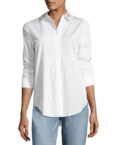 Equipment Essential Button-Down Cotton Shirt