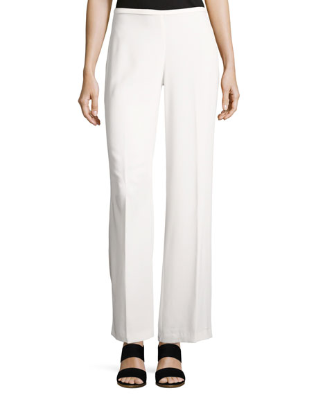 Trina Turk Penelope Crepe Wide-Leg Pants and Matching
