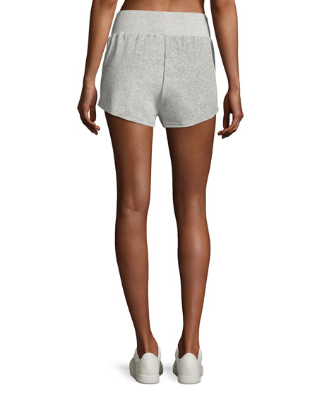 Ultra Plush Sport Shorts, Silver