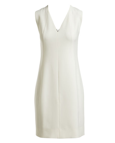 Roanna Sleeveless V-Neck Dress