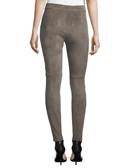 Roxanna Skinny Suede Pants