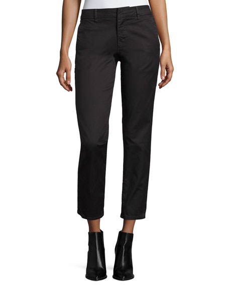Vince Classic Twill Crop Chino Pants and Matching