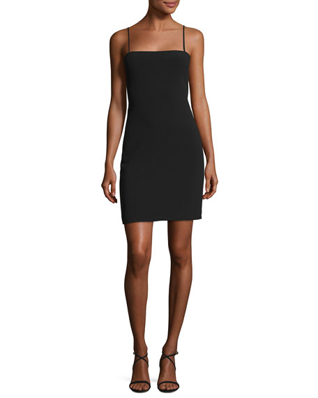 Elizabeth and James Caressa Square-Neck Sleeveless Fitted