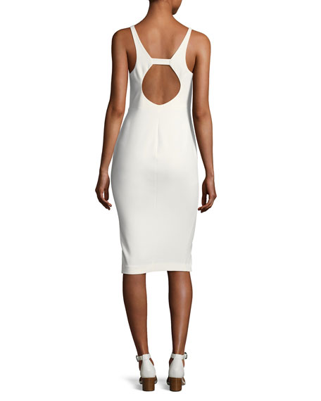 Corley Sweetheart Sleeveless Cocktail Dress