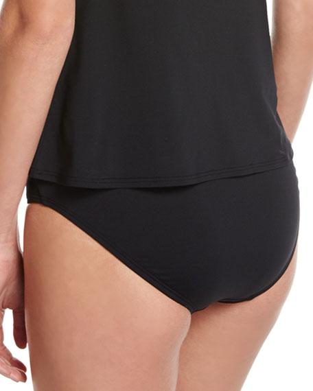 Classic Bikini Swim Bottom, Black