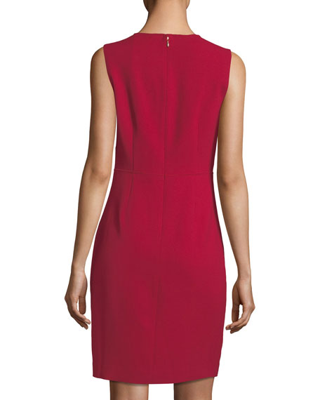 Jadea Sleeveless Zip-Front Dress