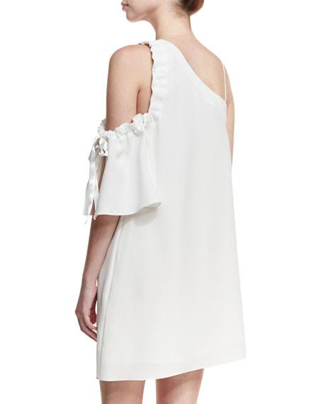 Gemini Asymmetric Shift Dress