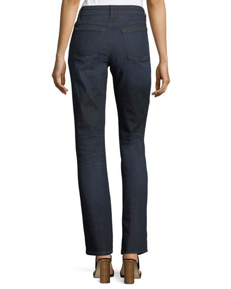 Organic Straight-Leg Jeans