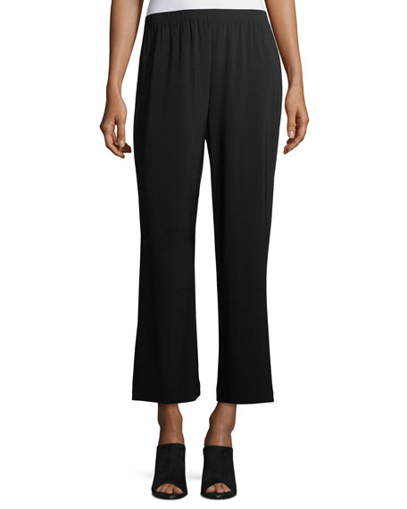 Caroline Rose Wide-Leg Ankle Pants, Plus Size