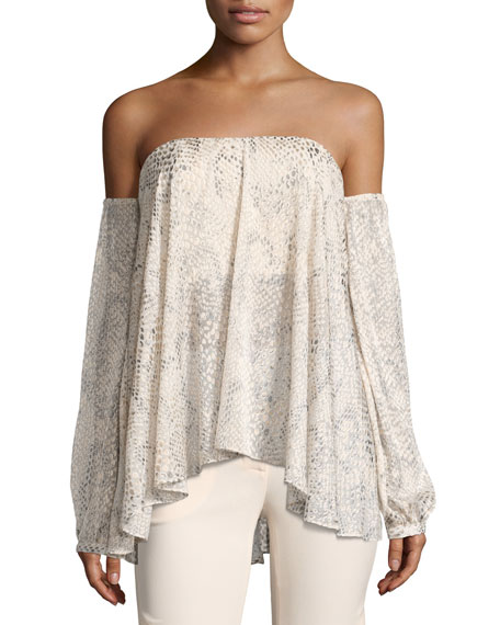 My Amour Off-the-Shoulder Blouse