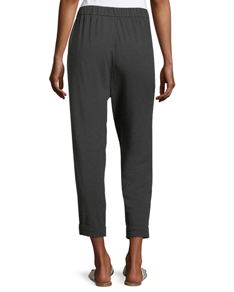 Cozy Jersey Slouchy Pants