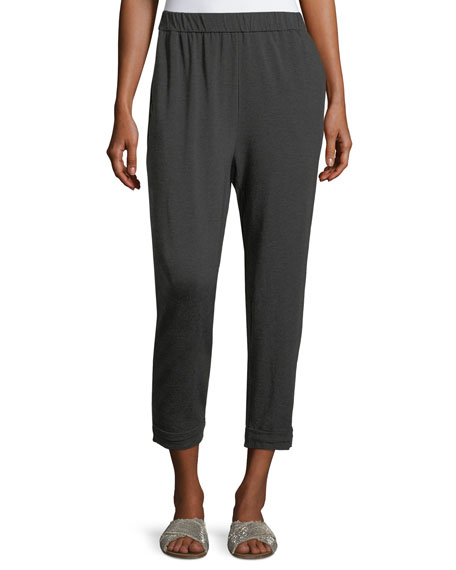 Eileen Fisher Cozy Jersey Slouchy Pants