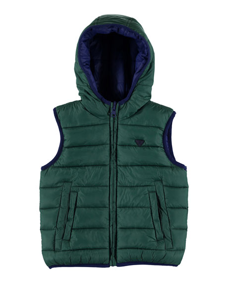 MAYORAL Padded Reversible Vest, Size 3-7