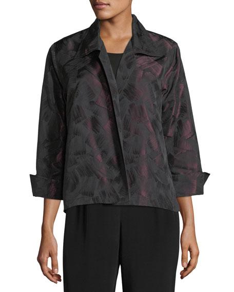 Brushstroke Jacquard Gala Jacket