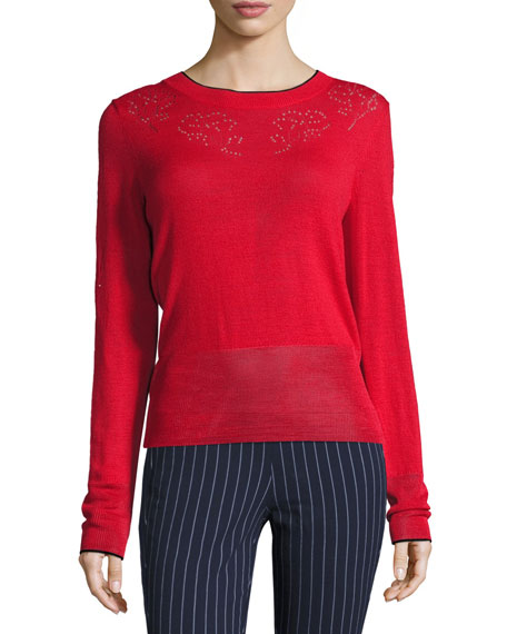 Rag & Bone Adriana Pointelle Sweater