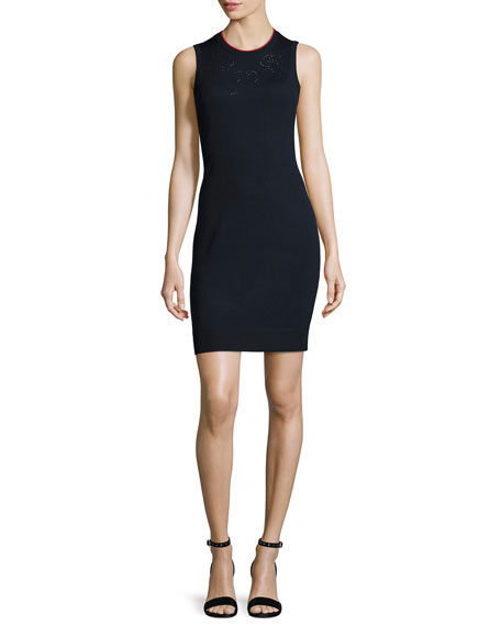 Rag & Bone Adriana Sleeveless Knit Sheath Dress