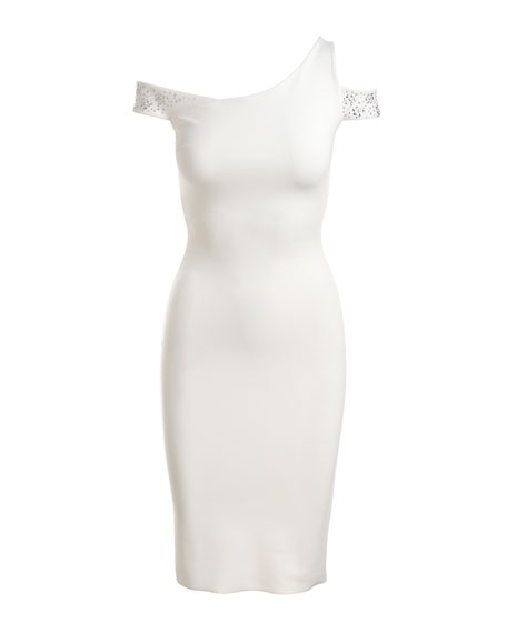 Vlada Studded Jersey Cocktail Dress