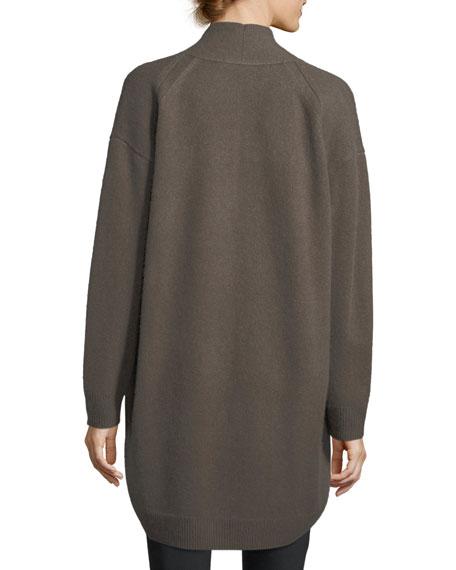 Cashmere Drop-Shoulder Cardigan