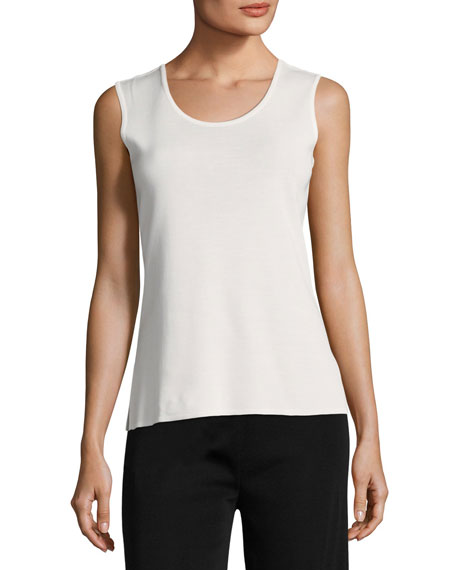 Misook Scoop-Neck Knit Tank, Plus Size