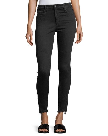 AG The Farrah Ankle High-Rise Skinny Jeans
